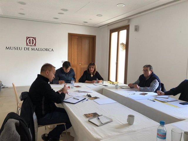 Comisión mixta Govern-Consell para el traspaso del Museu de Mallorca