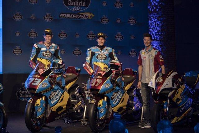 Presentación del Team Estrella Galicia