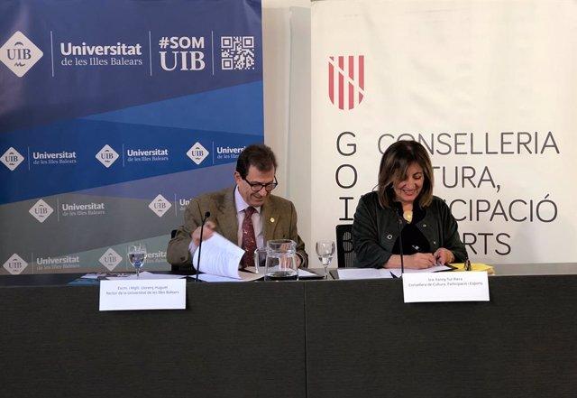 Govern i UIB signen un protocol pel Museu de la Ciència de Balears