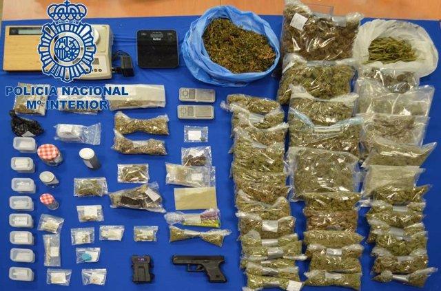 Drogues confiscades en un 'club de fumadors' d'Eivissa