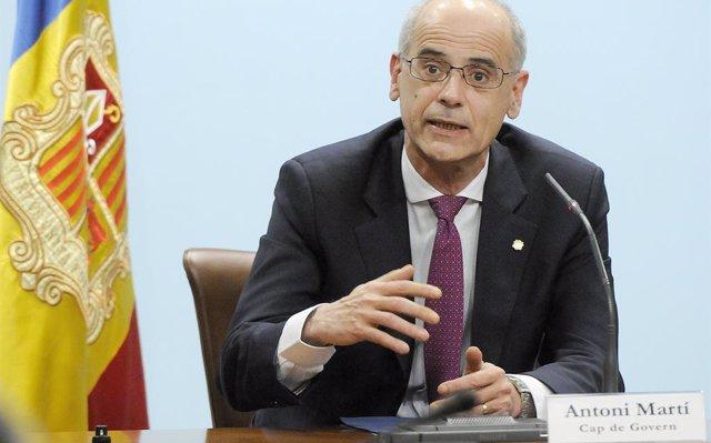 El cap de Govern d'Andorra dissol la cambra