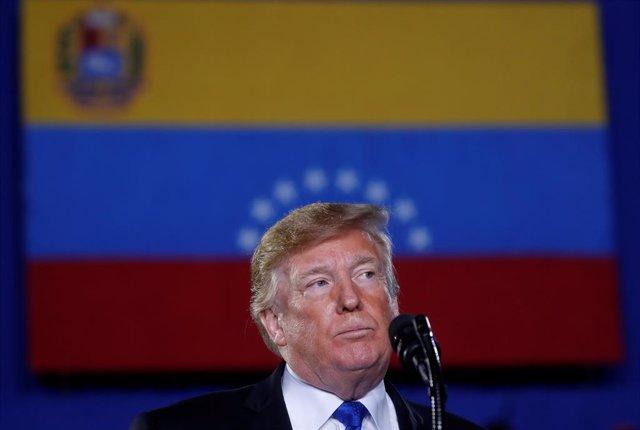El presidente de Esados Unidos, Donald Trump
