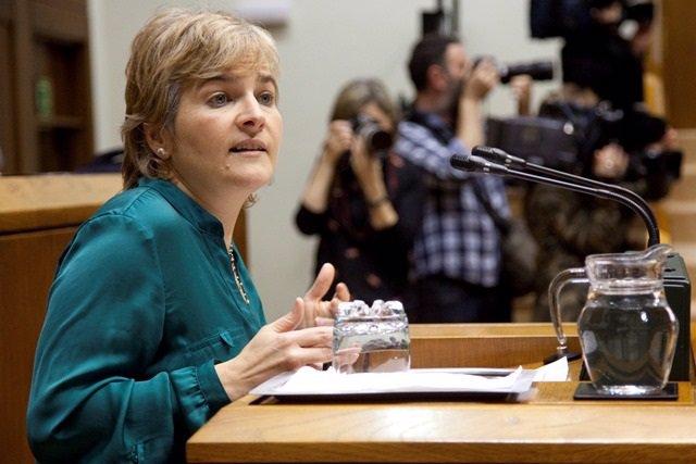 Rebeka Ubera (EH Bildu) pide la dimisión de Darpón