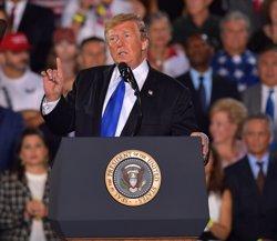 Diversos estats dels EUA demanden l'administració de Trump per haver declarat l'emergència nacional per construir el mur (-/SMG via ZUMA Wire/dpa)