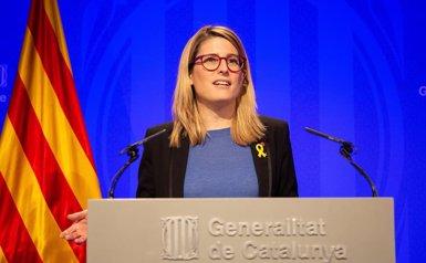 """El Govern acusa Sánchez d'actuar amb """"venjança"""" en retirar-los la seguretat (EUROPA PRESS)"""