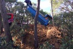 SOS Costa Brava denúncia abocaments a la muntanya de Sant Sebastià de Palafrugell, inclosa a la moratòria urbanística (ACN)