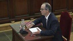 Turull comença a declarar i es queixa de no poder fer-ho en català amb traducció simultània (SEÑAL DE TV DEL TRIBUNAL SUPREMO)
