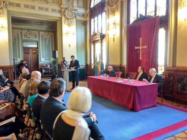 Presentación del libro 'Parlamentarios asturianos de 1977'