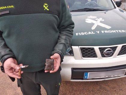 Investigado un joven de Gondomar tras serle interceptados casi 40 gramos de hachís para la venta