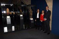 El CaixaForum Girona recrea l'Egipte dels faraons amb escultures i joies del British Museum (ACN)