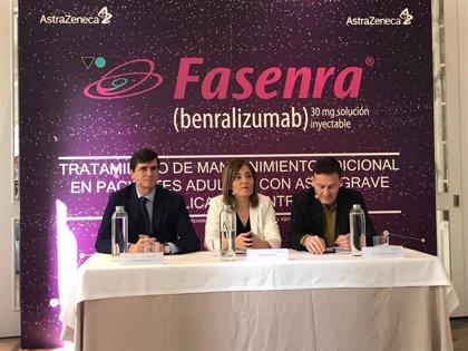 Disponible en España 'Fasenra' (AstraZeneca) para el tratamiento del asma grave eosinofílica no controlada
