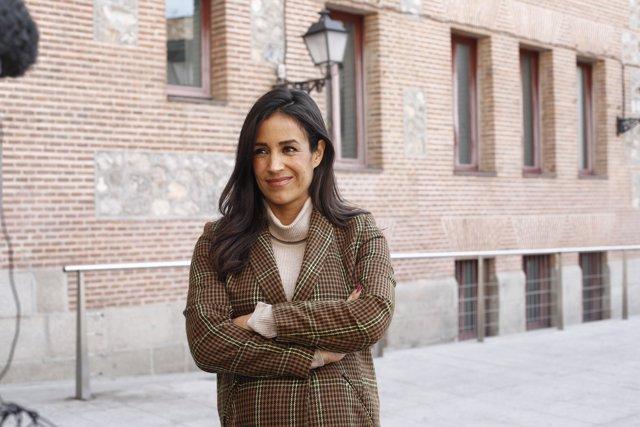 La portavoz de Ciudadanos en el Ayuntamiento de Madrid, Begoña Villacís, respond