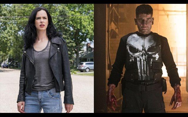 Krysten Ritter y Jon Bernthal se despiden de Jessica Jones y The Punisher