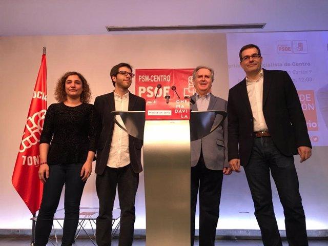 Chema Dávila presenta su candidatura PSOE Madrid