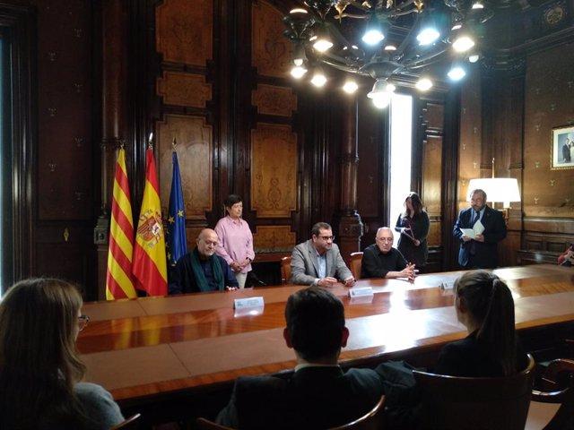 Firma de dos acuerdos entre Taller de Músics y El Dorado SFB con Acción Cultural