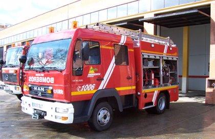 Desalojan a 100 trabajadores de una empresa de Manzanares tras un incendio