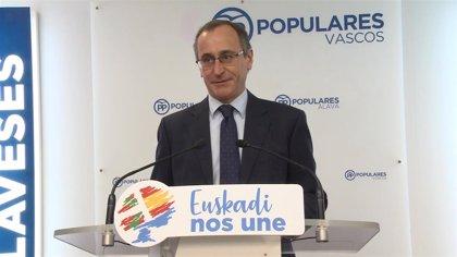 """PP pide medidas a Urkullu ante la """"insostenible"""" situación de Osakidetza, pero sin precisar si debe cesar a Darpón"""