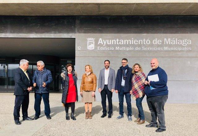 Daniel Pérez en la Gerencia Municipal de Urbanismo