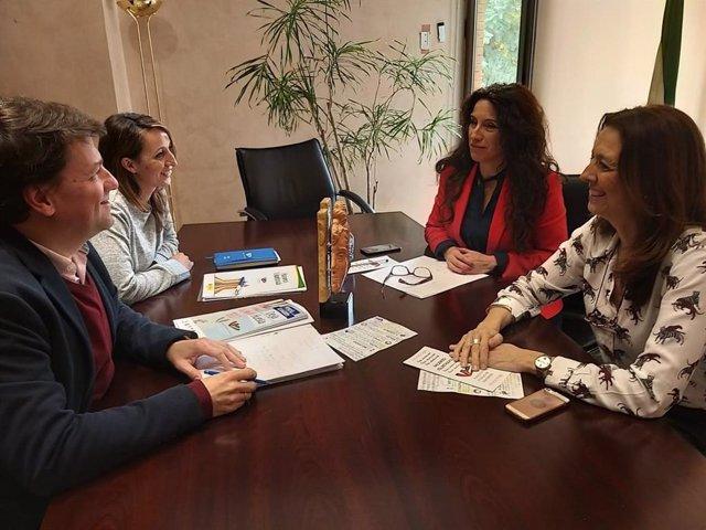 Rocío Ruiz se compromete a desarrollar estrategias para potenciar el voluntariad