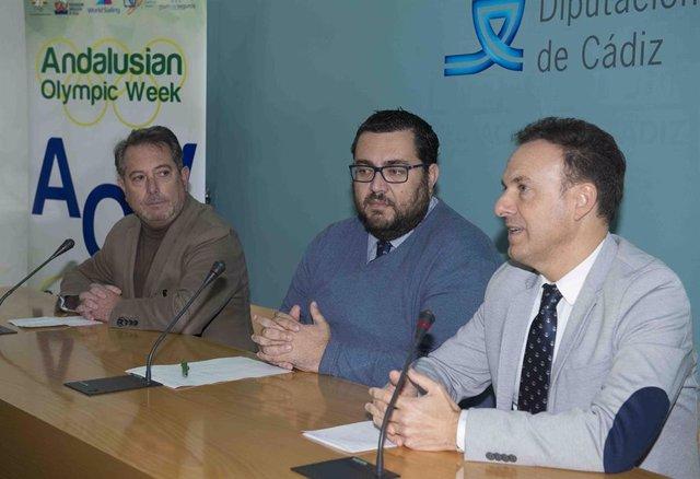 Presentación De La La Semana Olímpica Andaluza De Vela En La Bahía De Cádiz