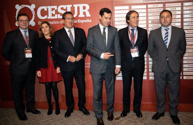 Juanma Moreno participa en unas jornadas de ciberseguridad