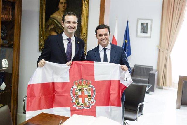 El alcalde de Almería y el presidente de la Diputación de Almería