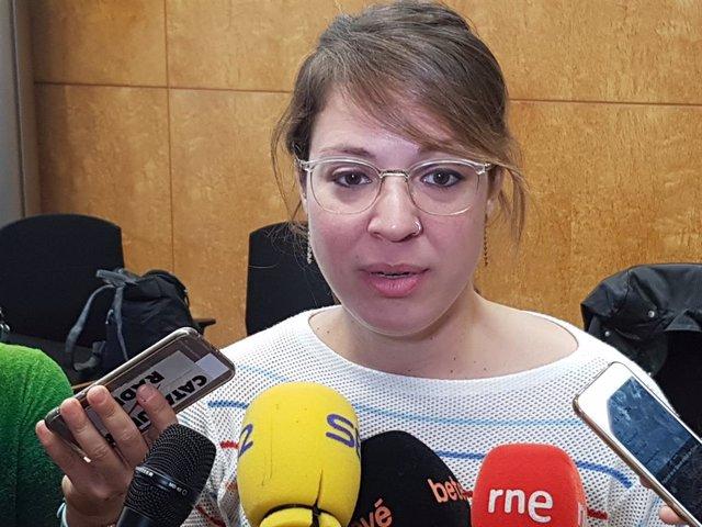 La tinent d'alcalde Janet Sanz en una foto d'arxiu