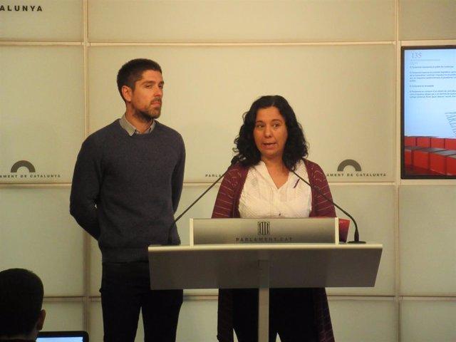 David Cid i Susanna Segovia (CatECP)