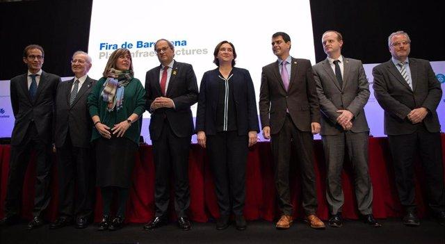 Fira de Barcelona ampliará el recinto de Gran Via y renovará el de Montjuïc