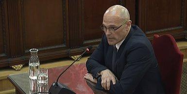 """Romeva segueix l'estratègia de Junqueras i no contesta a les preguntes de la Fiscalia: """"És un judici polític"""" (POOL)"""