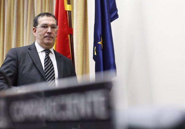 Compareixena en la Comissió de Justícia al Congrés d'Alonso-Cuevillas Sayrol (a