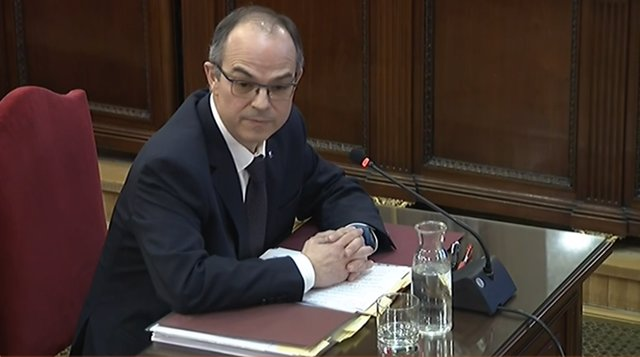 Interrogatori a Jordi Turull en el judici pel procés