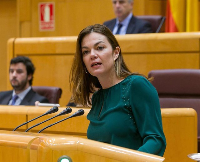 María José López Santana, senadora de Nueva Canarias