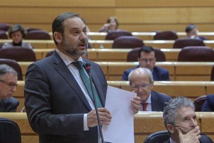 """Ábalos achaca el """"exponencial crecimiento"""" de las VTC al anterior Gobierno"""