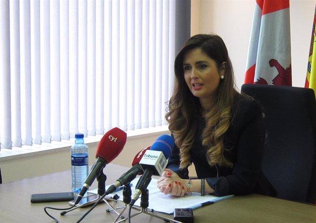 La alcaldesa de Zaratán, Susana Suárez, que ha anunciado que abandona el PP
