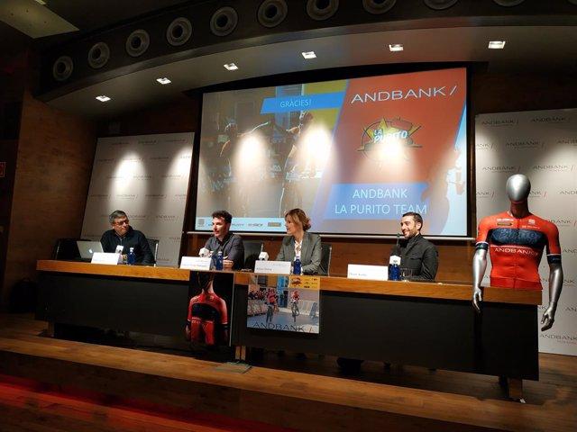 Presenten el nou equip de competició Andbank-La Purito Andorra