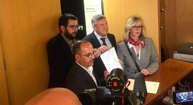 PSOE, PDeCAT, PNV y Compromís piden convocar de urgencia el Pacto de Toledo