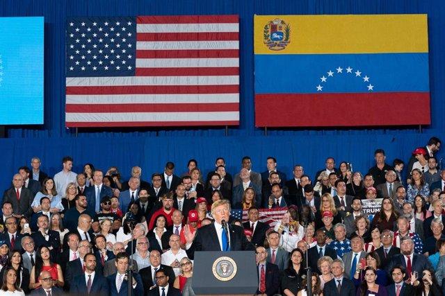 Trump meets Venezuelan American Community