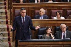 Sánchez evita respondre a Rivera si indultarà els presos independentistes després de les eleccions si són condemnats (Marta Fernández Jara - Europa Press)