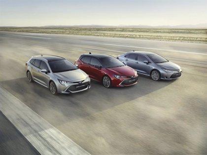 Toyota presenta la gama Corolla, con tres carrocerías y propulsión híbrida de hasta 180 caballos