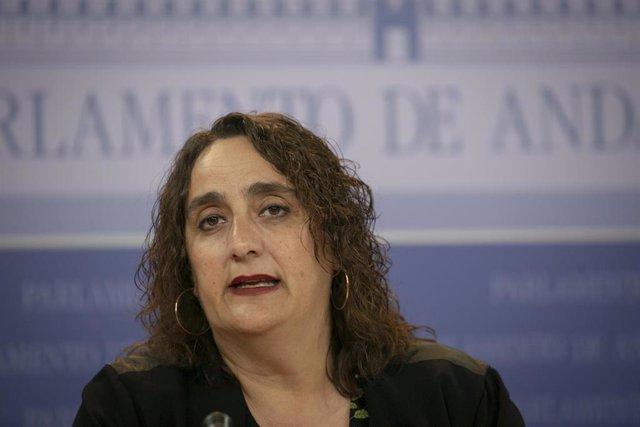 Ángela Aguilera, Hoy En Rueda De Prensa