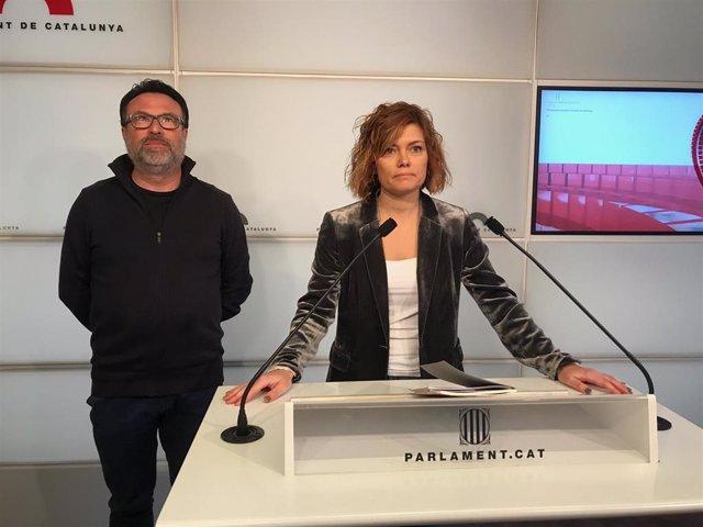 """Elisenda Alamany critica un """"cambio de rumbo"""" de los comuns y no renuncia al esc"""