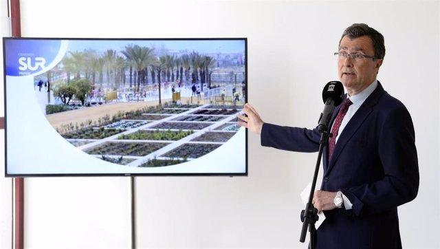 El alcalde de Murcia, José Ballesta, presenta el proyecto de ciudad 'Conexión Su
