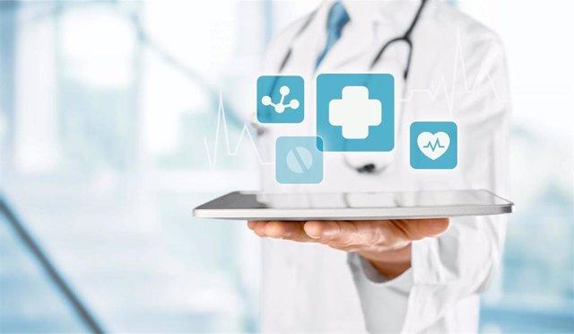 Imagen_Doctor_tablet. Aplicación médica.