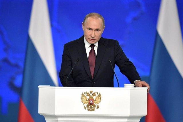 Putin en su discurso anual ante el Parlamento ruso