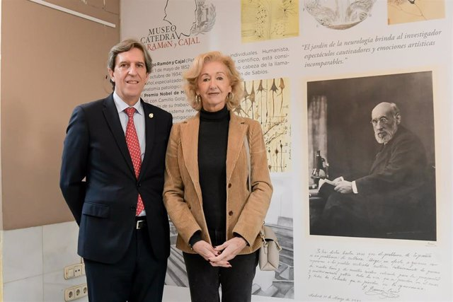 Presentación de los planos del Museo Cátedra Ramón y Cajal