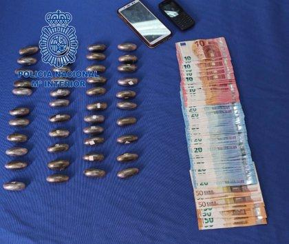 Detenida en Badajoz una embarazada de siete meses de gestación con 43 bellotas de hachís en su organismo
