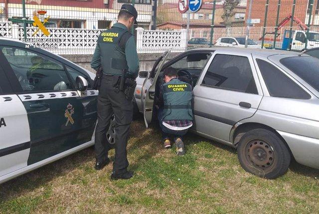 Rdo. Nota De Prensa Guardia Civil (Desmantelado Un Punto De Distribución De Drog