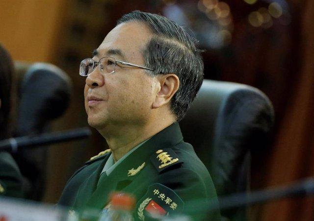 Fang Fenghui durante el juicio