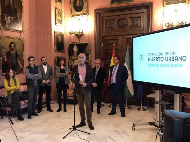 Antonio Muñoz presenta proyectos singulares para la ciudad